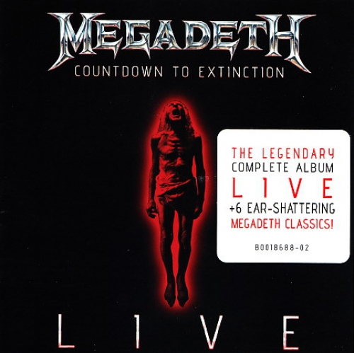 Megadeth  Countdown To Extinction Live CD Album at Discogs