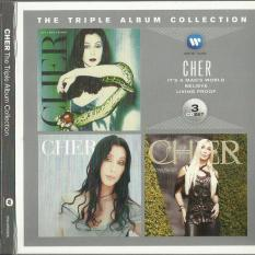 THE TRIPLE ALBUM COLLECTION: IT'S A MAN'S WORLD / BELIEVE / LIVING PROOF